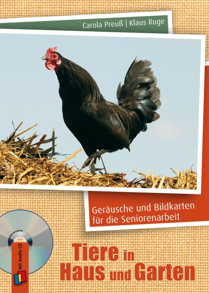 Tiere in Haus und Garten (CD & Bildkarten)