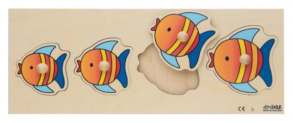 Fische Einlegepuzzle