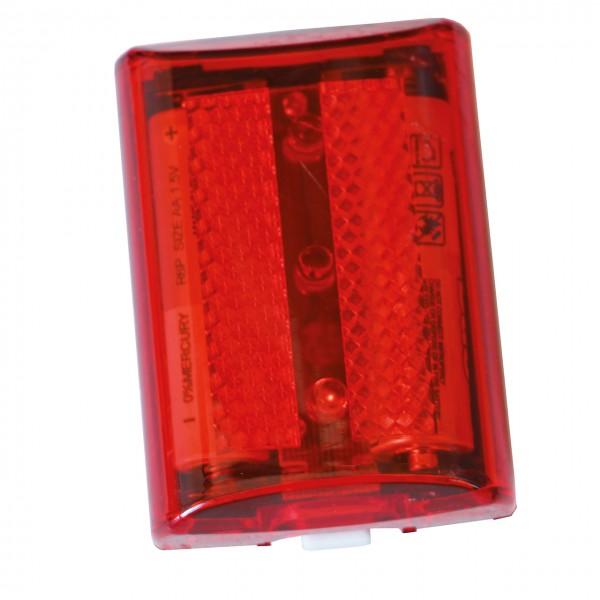 Rote Signallampe