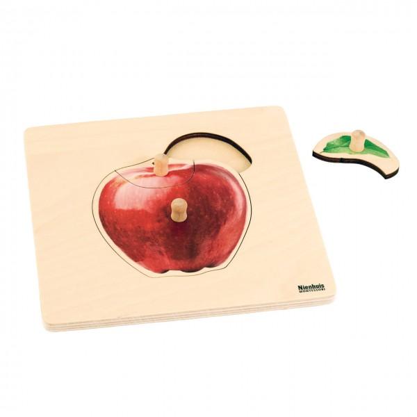 Toddler Puzzle Apfel Steckpuzzle 20,8 x 20,8 cm