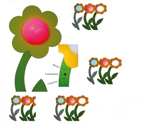 Leuchtblume JIP (interaktiv)