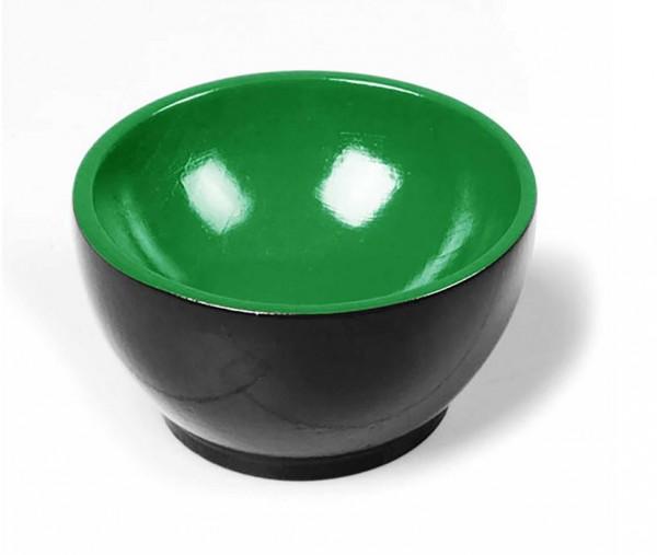 Holzschälchen - schwarz-grün