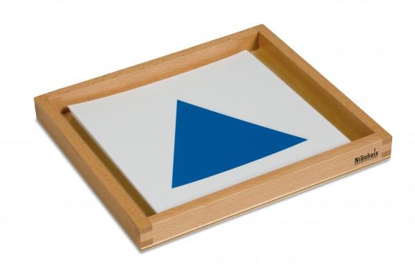 Geometrische Kartensatz für Einführungsrahmen