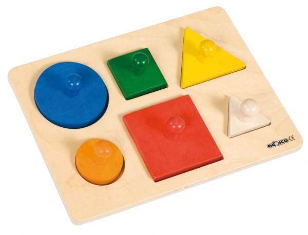 Entwicklungspuzzle MAXI Formen