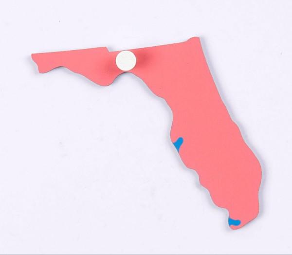 Puzzlekarte USA - Florida