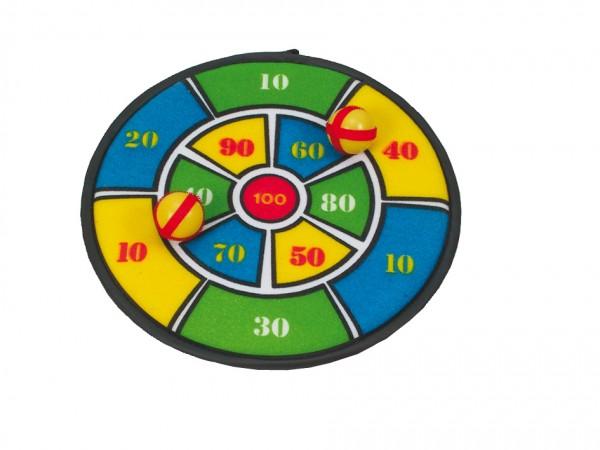 Haftwurfspiel mit Bällen & Pfeilen
