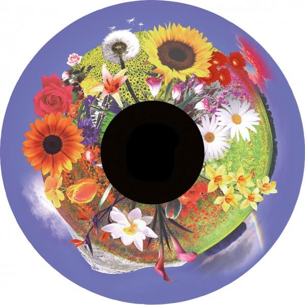 """Blumenstrauß (Motivdia 6"""" für SolarLed)"""