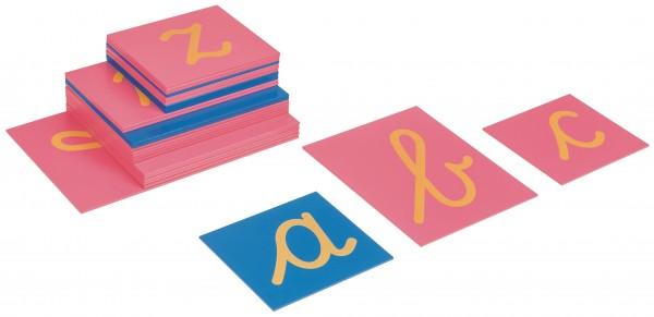 Sandpapierbuchstaben Kleinbuchstaben (LA International)