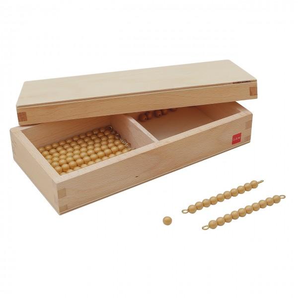 Kasten mit Zehnerstangen für Seguintafeln 2 (GAM)