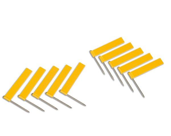 Fähnchen gelb 10 Stück