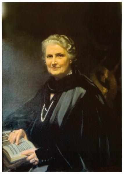 Fotografie A3 Maria Montessori Portrait
