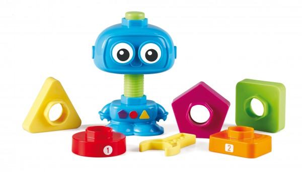 Schraub und zähl den Robot 9-teilig