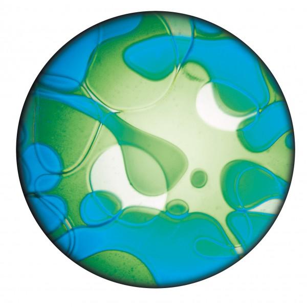 Flüssigdia blau-grün (Space Projektor)