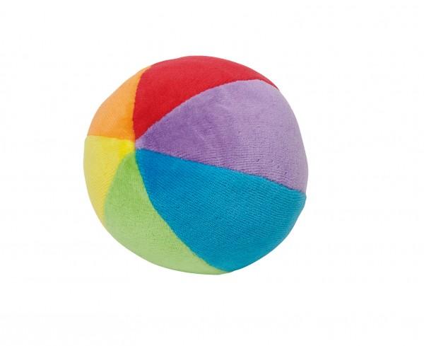 Stoffballl Regenbogen
