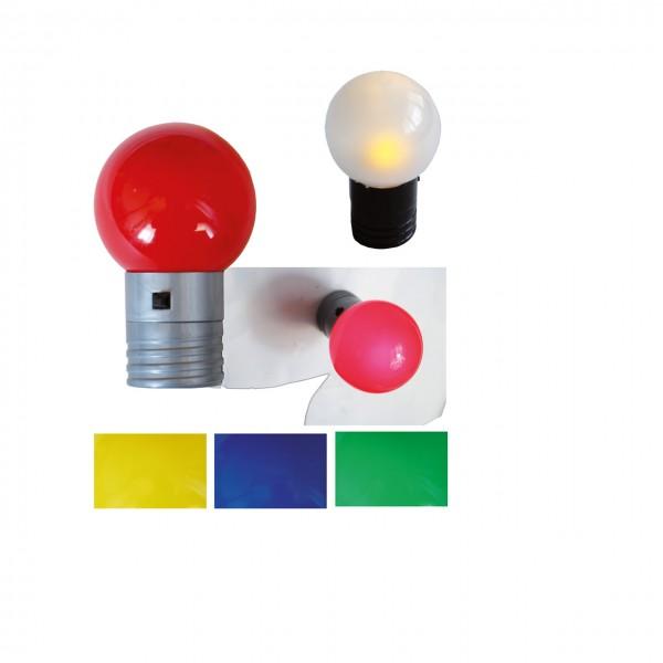 Magnethaftende Lampe Bulby (4 St.)