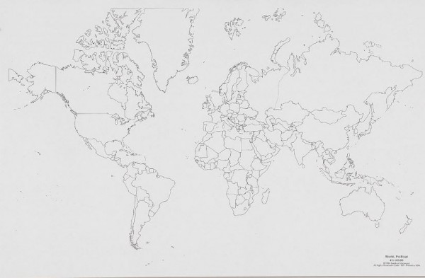 Weltkarte - Politik (50)