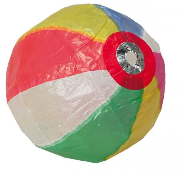 Papierball Regenbogen