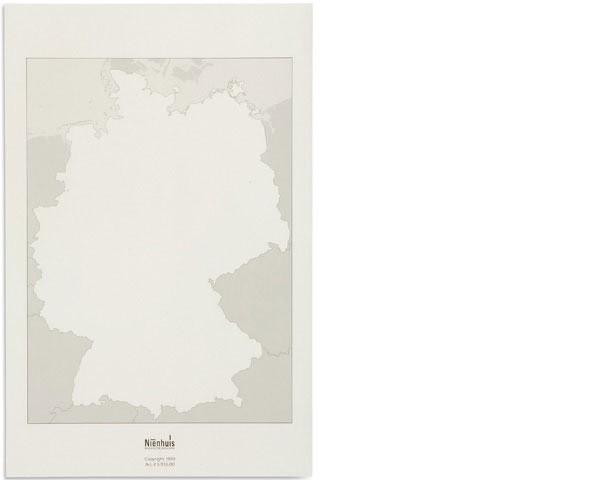 Arbeitskarten Deutschland