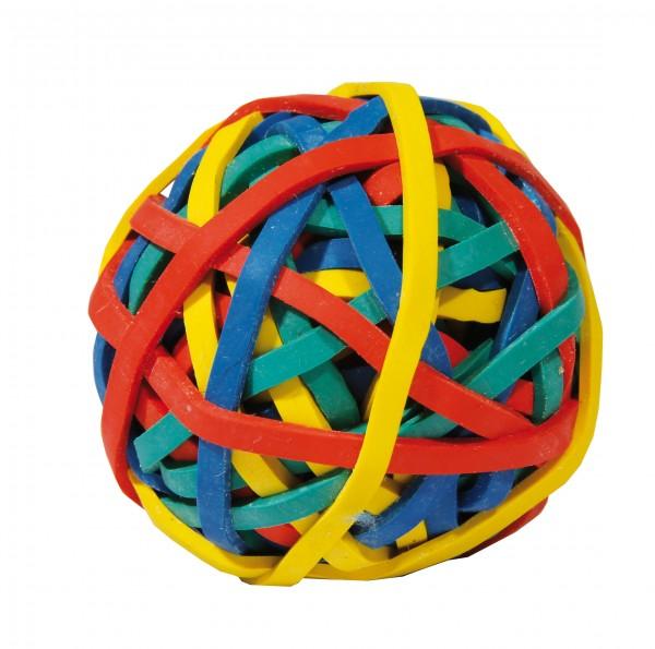 Ball aus Gummiringen
