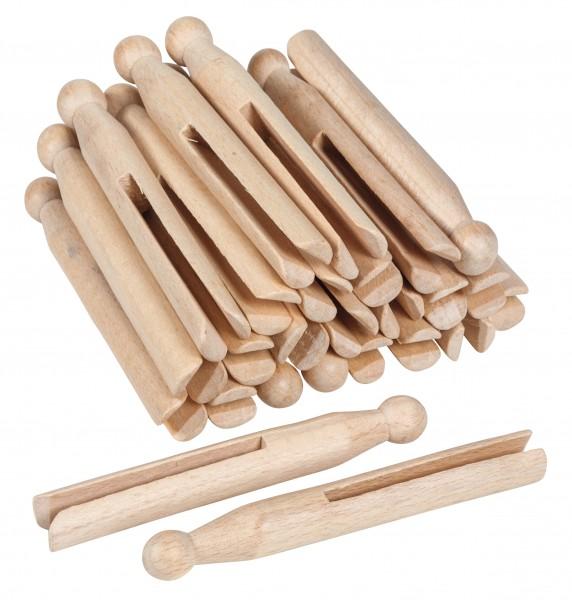 Wäscheklammern aus Holz (25 Stück) Nienhuis