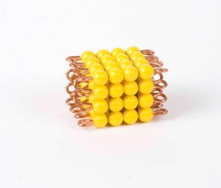 Perlenkubus von 4 - Lose Perlen, Kunststoff