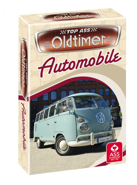 Oldtimer Quartett Automobile