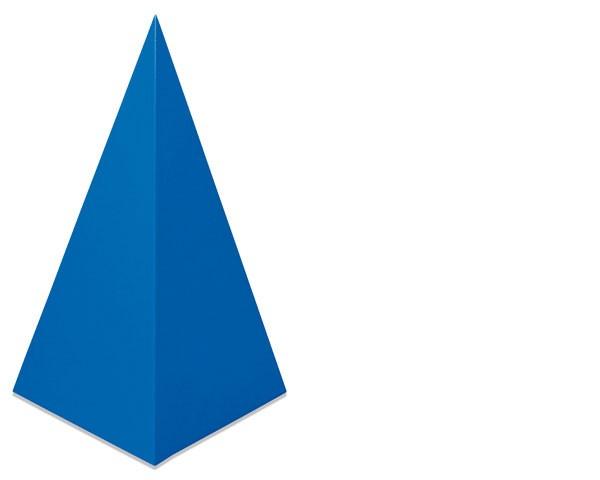 Vierseitiges Pyramide