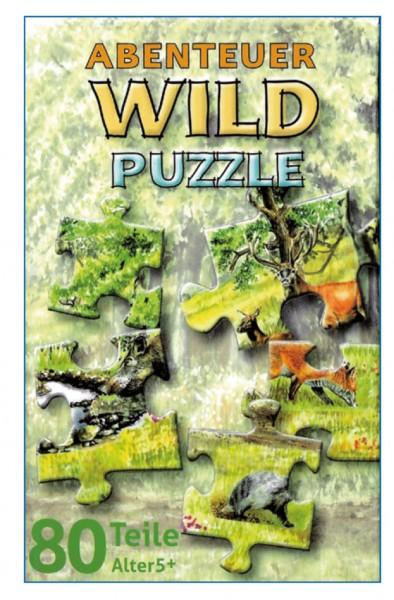 Abenteuer Wild - das Puzzle (80tlg.)