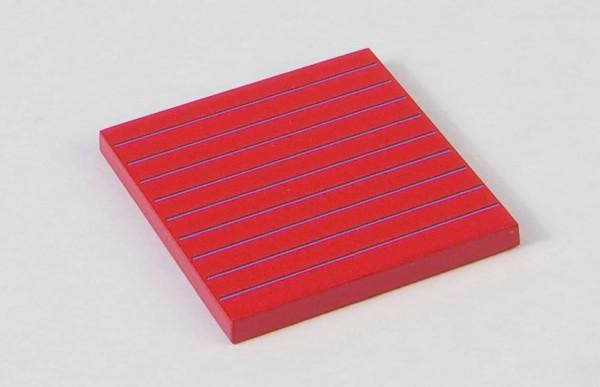 Hierarchie der Zahlen, Plättchen 50 mm Nienhuis