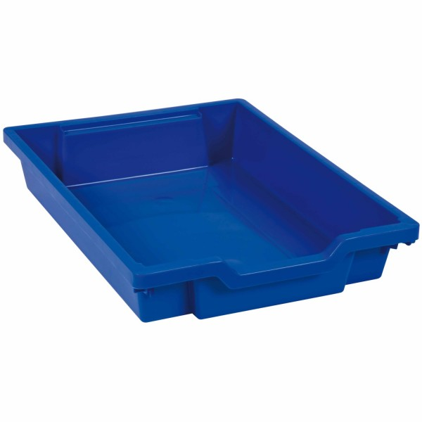 Schublade 7 cm blau