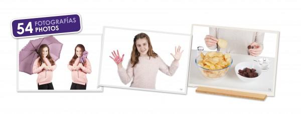 Adjektive Fotokarten