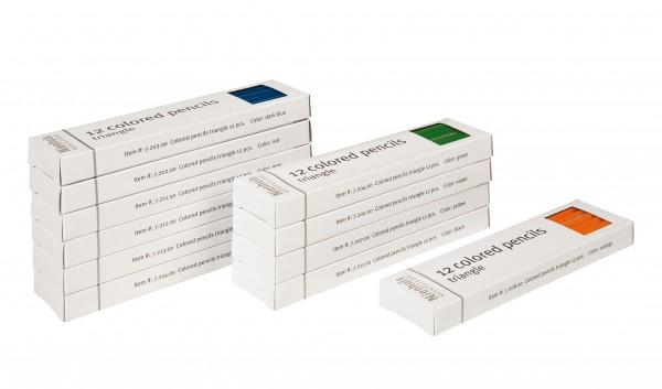 Buntstifte für die Bleistiftständer Nienhuis (Aktionspreis MM 150)