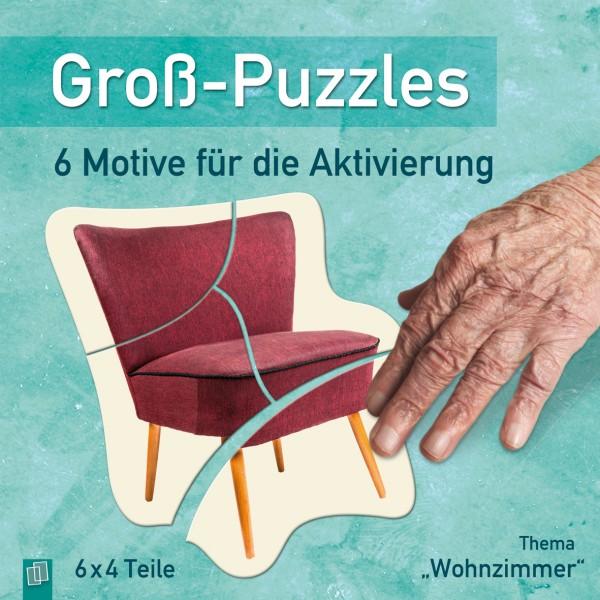 Groß-Puzzles Wohnzimmer