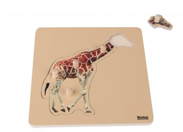 Kleinkind Puzzle Giraffe Nienhuis