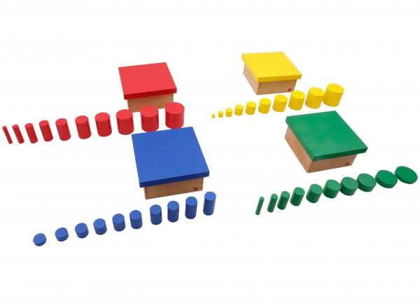 Farbige Zylinder (GAM)