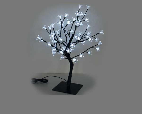 Leds Baum weiß