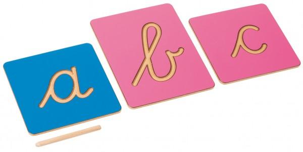 Rillenbuchstaben (international)