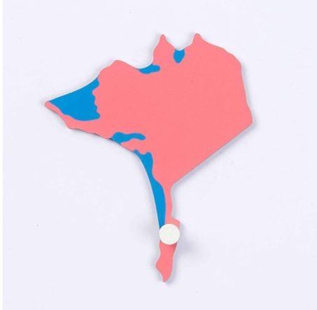 Puzzlekarte USA - Alaska