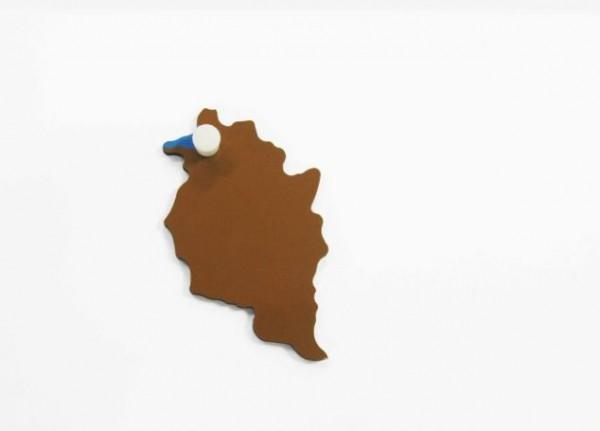 Puzzlekarte Österreich - Vorarlberg