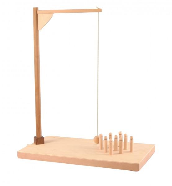 Tischkegelspiel NOAH Aufstellmechank