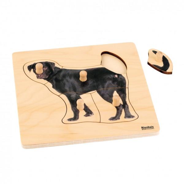 Toddler Puzzle Hund Steckpuzzle 20,8 x 20,8 cm