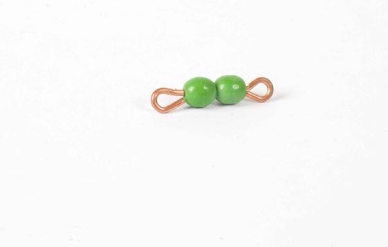 Perlenstäbchen von 2 - Lose Perlen, Glas