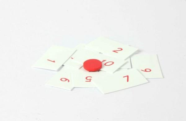 Kartensatz für das kleines Multiplikationsbrett