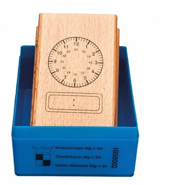 Uhrstempel - digital bis 24 Uhr
