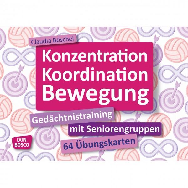 Konzentration Koordination Bewegung Gedächtnistraining
