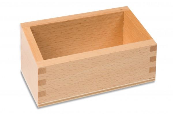 Kasten für die Ziffern auf Holzbrettchen