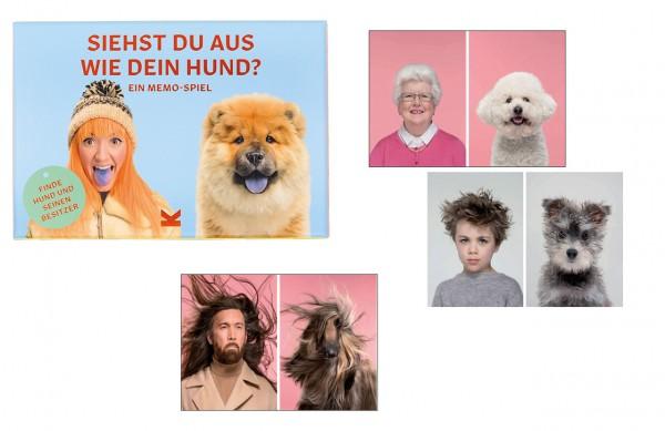 Siehst Du aus wie Dein Hund? Memospiel