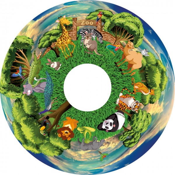 "Im Zoo (Motivdia 6"" für SolarLed)"