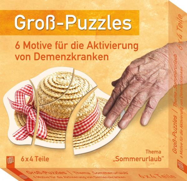 Groß-Puzzles Sommerurlaub