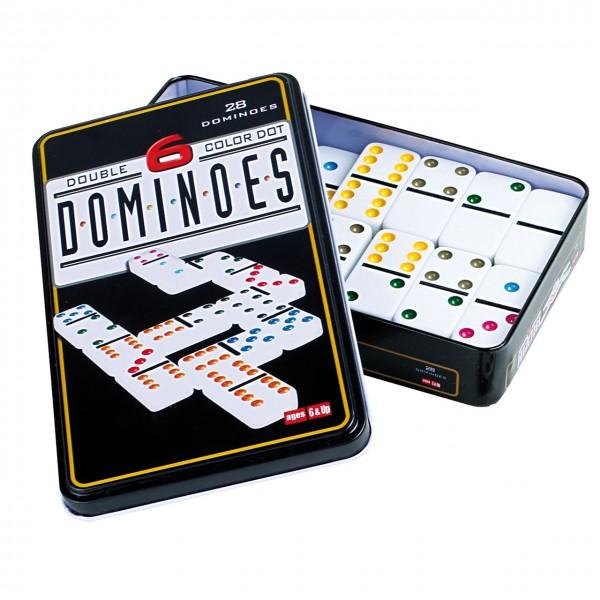 Farben Domino bunte Punkte